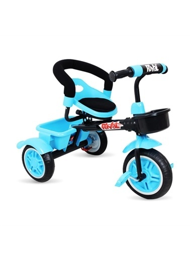 Rival Rv502 Plus 3 Tekerli Çocuk Bisikleti Eva Dolgu, Patlamaz Ses Yapmaz Çocuk Bisikleti Mavi